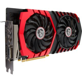 6GB MSI GeForce GTX 1060 GAMING X+ 6G Aktiv PCIe 3.0 x16 (Retail)