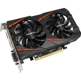2GB Gigabyte Radeon RX 550 Gaming OC Aktiv PCIe 3.0 x16 (x8) (Retail)