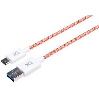 (€12,90*/1m) 1.00m A-Solar USB3.1 Anschlusskabel USB A Stecker