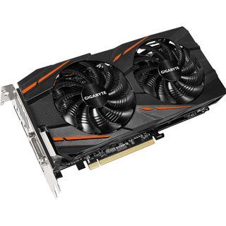 8GB Gigabyte Radeon RX 580 GAMING Aktiv PCIe 3.0 x16 (Retail)