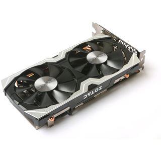 6GB ZOTAC GeForce GTX 1060 AMP! Edition+ Aktiv PCIe 3.0 x16 (Retail)