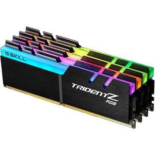 64GB G.Skill Trident Z RGB DDR4-3200 DIMM CL15 Quad Kit