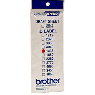 Brother ID1438 Stempel Etiketten 14x38mm