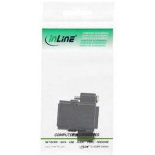 InLine Patchkabelkupplung Cat.6, UTP, 2x RJ45 Buchse, zum Einbau