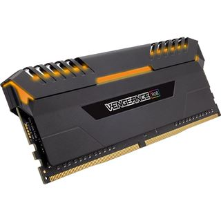 32GB Corsair Vengeance RGB DDR4-3466 DIMM CL16 Quad Kit