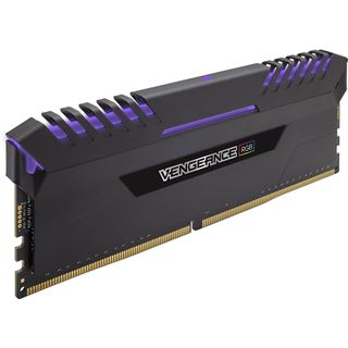 64GB Corsair Vengeance RGB DDR4-2666 DIMM CL16 Octa Kit