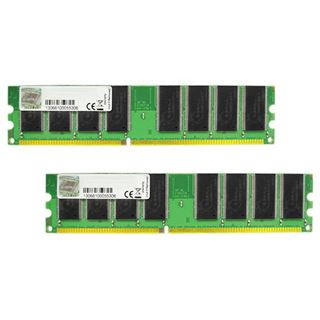 2GB G.Skill NS Series DDR-400 DIMM CL2.5 Dual Kit