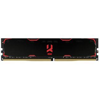 8GB GOODRAM Iridium schwarz DDR4-2400 DIMM CL15 Single