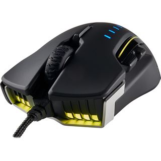 Corsair Glaive RGB Aluminium USB schwarz/grau (kabelgebunden)