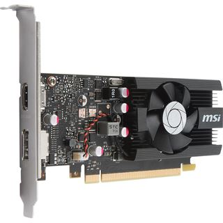 2GB MSI GeForce GT 1030 2G LP OC Aktiv PCIe 3.0 x16 (x4) (Retail)