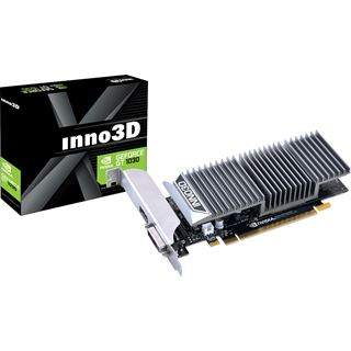2GB INNO3D GeForce GT 1030 0dB Passiv PCIe 3.0 (Retail)