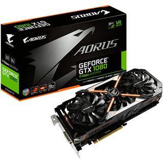8GB Gigabyte GeForce GTX 1080 AORUS Aktiv PCIe 3.0 x16 (Retail)