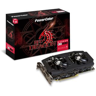 4GB PowerColor Radeon RX 580 Red Dragon V2 Aktiv PCIe 3.0 x16 (Retail)