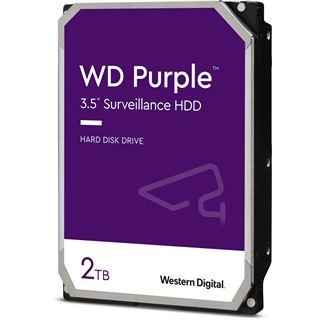 """2000GB WD Purple WD20PURZ 64MB 3.5"""" (8.9cm) SATA 6Gb/s"""