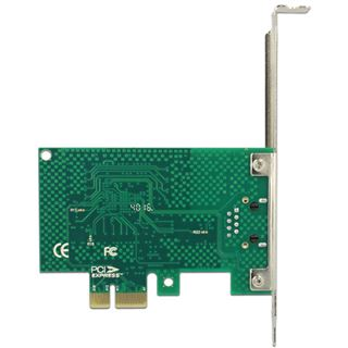 DeLOCK PCI Express Karte 1 x Gigabit LAN