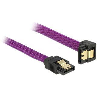 0.20m Delock SATA 6Gb/s Anschlusskabel SATA Stecker auf SATA Stecker