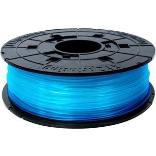 DaVinci Filamentcassette Clear PLA für 3D Drucker da Vinci blau