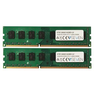 16GB V7 DDR3L-1600 DIMM CL11 Dual Kit