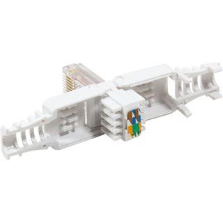 LogiLink RJ45-Steckverbinder Kat.6, UTP, TIA/EIA 568B.2-10