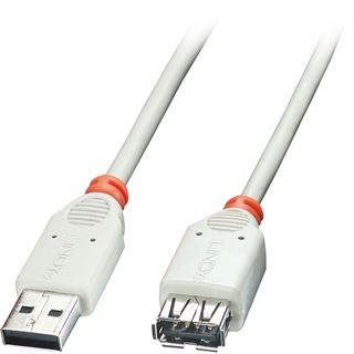 (€19,50*/1m) 0.20m Lindy USB2.0 Verlängerungskabel