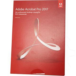 Adobe Acrobat Pro 2017 32 Bit Deutsch PDF Bearbeitung Vollversion PC