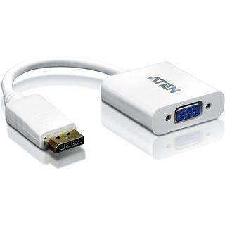 ATEN Technology Displayport 1.1a Adapter Displayport Stecker auf VGA