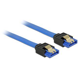(€9,80*/1m) 0.50m Delock SATA 6Gb/s Anschlusskabel SATA Buchse