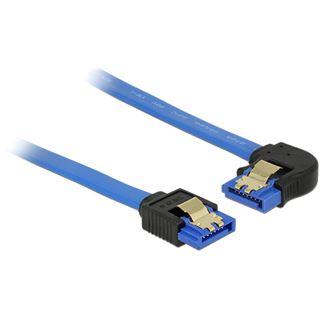 0.10m Delock SATA 6Gb/s Anschlusskabel gewinkelt links SATA Buchse
