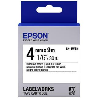 Epson TAPE - LK1WBN STD BLK/WHT 4/9