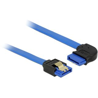 0.70m Delock SATA 6Gb/s Anschlusskabel gewinkelt rechts SATA Buchse