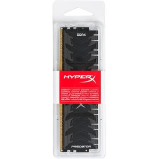 16GB HyperX Predator schwarz DDR4-2400 DIMM CL12 Single
