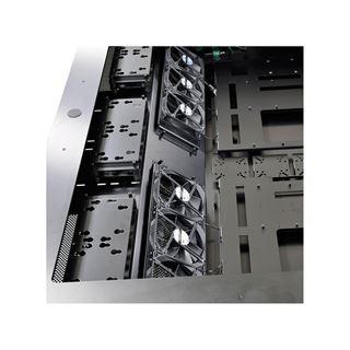 Lian Li DK-05X Tischgehäuse (höhenverstellbar) - schwarz