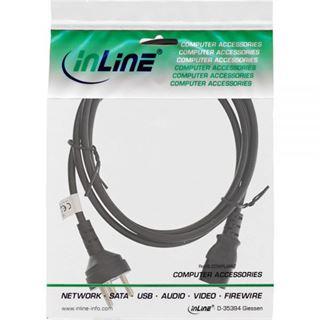 (€2,30*/1m) 3.00m InLine Stromkabel Stecker Daenemark auf