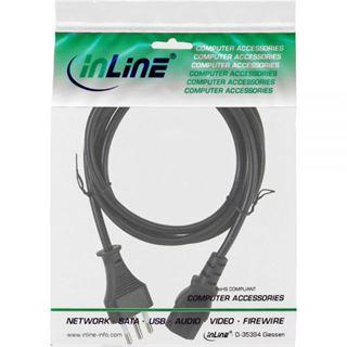 (€2,30*/1m) 3.00m InLine Stromkabel Stecker Italien auf
