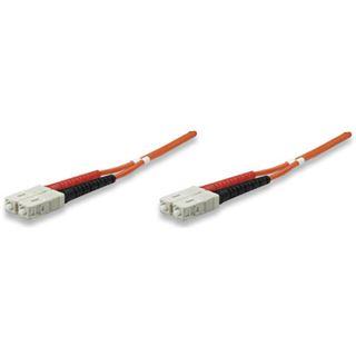 (€2,97*/1m) 3.00m Intellinet LWL Duplex Anschlusskabel 50/125