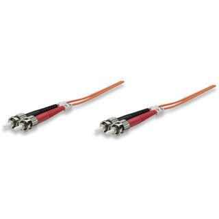 (€1,78*/1m) 5.00m Intellinet LWL Duplex Anschlusskabel 50/125