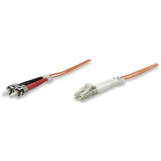 (€3,95*/1m) 2.00m Intellinet LWL Duplex Anschlusskabel 62,5/125