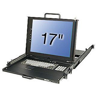"Lindy 17""LCD KVM Terminal PRO US 19""1HE Dual Rail Schublade"