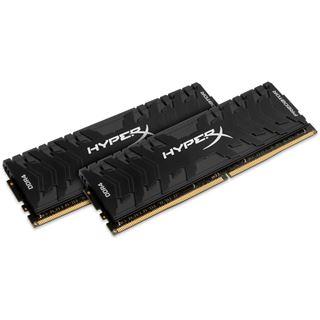 16GB HyperX Predator schwarz DDR4-2400 DIMM CL12 Dual Kit
