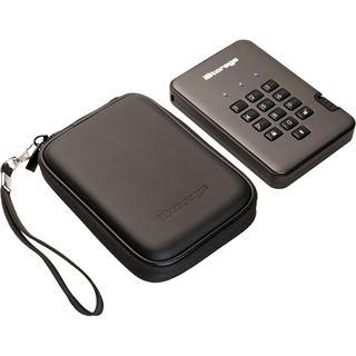 """2000GB ISG diskAshur Pro2 IS-DAP2-256-2000-C-G 2.5"""" (6.4cm) USB"""