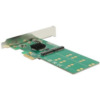Delock DeLOCK PCIe x2 > 4 x M.2 Key B Low Profile Formfaktor Deloc