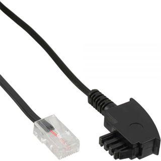(€0,28*/1m) 25.00m InLine TAE-F Anschlusskabel TAE-F Stecker auf