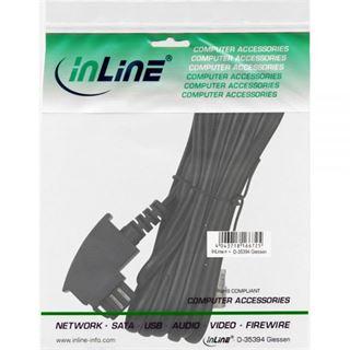 (€3,90*/1m) 1.00m InLine TAE-N Anschlusskabel TAE-N Stecker auf