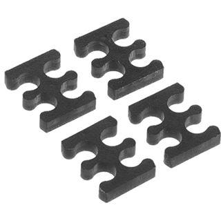 Alphacool Eiskamm X4 - 3mm - 4 Stück schwarz