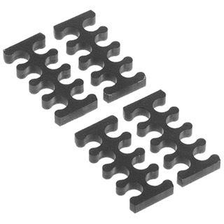 Alphacool Eiskamm X8 - 3mm - 4 Stück schwarz