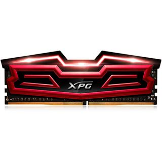 32GB ADATA XPG Dazzle LED rot/schwarz DDR4-3000 DIMM CL16 Quad Kit