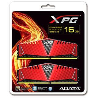 16GB ADATA XPG Z1 rot DDR4-3000 DIMM CL16 Dual Kit