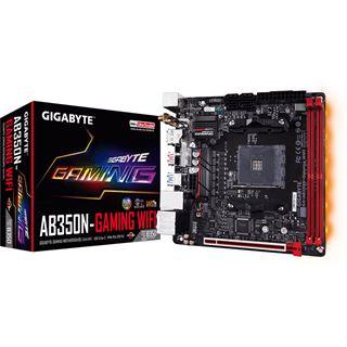 Gigabyte GA-AB350N-Gaming WIFI AMD B350 So.AM4 Dual Channel DDR4