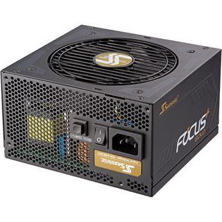 550 Watt Seasonic FOCUS Plus Modular 80+ Gold