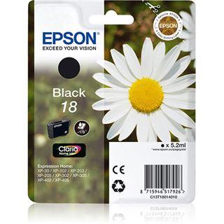 Epson Tinte 18 C13T18014020 schwarz